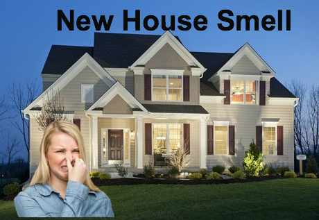 removing new house odor in New Jersey